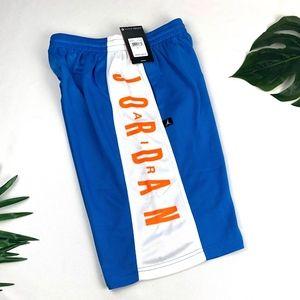 Nike Jordan Jumpman Photo Lt Blue Athletic Shorts